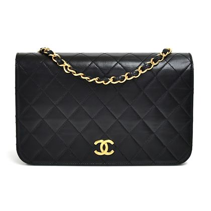 vintage-chanel-classic-black-quilted-lambskin-leather-flap-bag-2