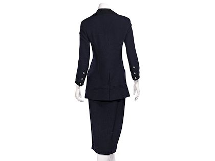 navy-blue-vintage-chanel-fw-1993-boucle-wool-skirt-suit-set
