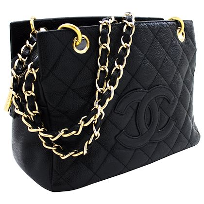 chanel-caviar-chain-shoulder-shopping-tote-bag-black-quilted-purse-leather-2