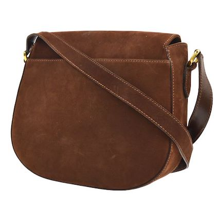 salvatore-ferragamo-gancini-cross-body-shoulder-bag-purse-brown