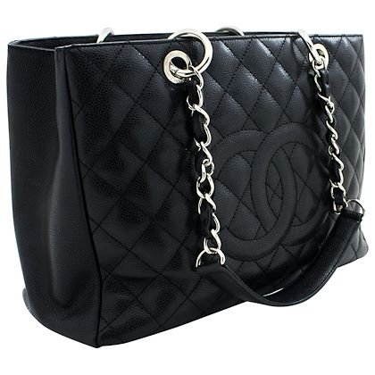 chanel-caviar-gst-13-grand-shopping-tote-chain-shoulder-bag-black-leather-4