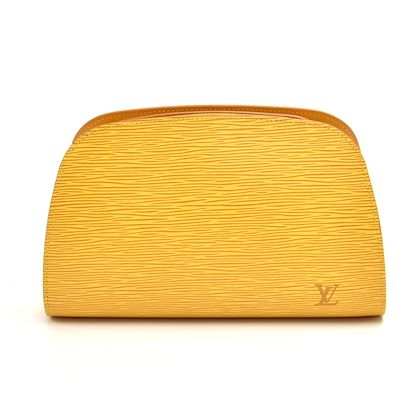louis-vuitton-dauphine-gm-yellow-epi-leather-cosmetic-travel-pouch