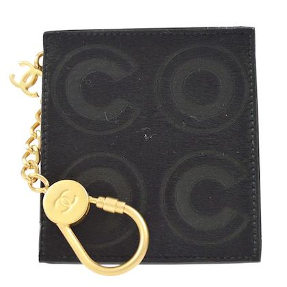 chanel-coin-purse-key-ring-black