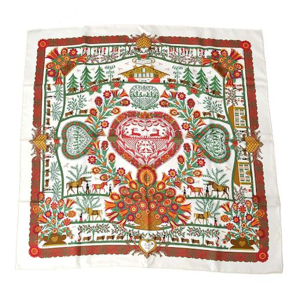 hermes-decoupage-carre-twill-scarf-red