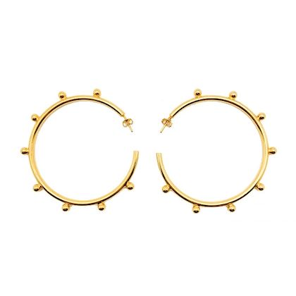 vintage-statement-gold-hoops-with-studs-1990s