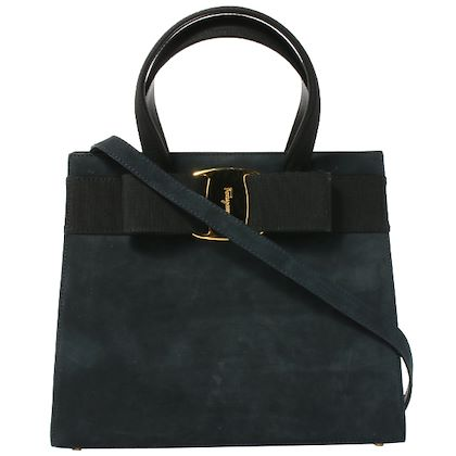 salvatore-ferragamo-suede-vara-bow-2way-bag-black