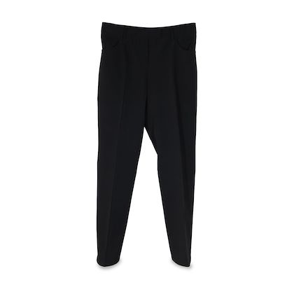 prada-black-poly-techno-fabric-tailored-trousers-pants-size-42