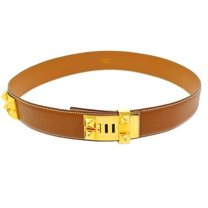 hermes-collier-de-chien-medoru-belt-brown-couchevel