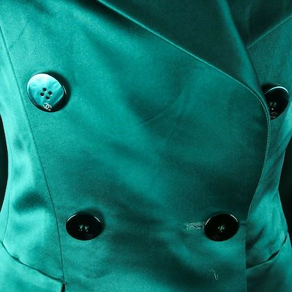 chanel-satin-green-blazer-coat-jacket-cc-logo-buttons-us-6-38-01a-pre-owned-used