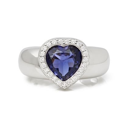 18k-white-gold-iolite-diamond-heart-cocktail-ring
