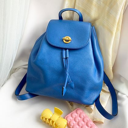 celine-circle-logo-plate-backpack-with-pouch-blue