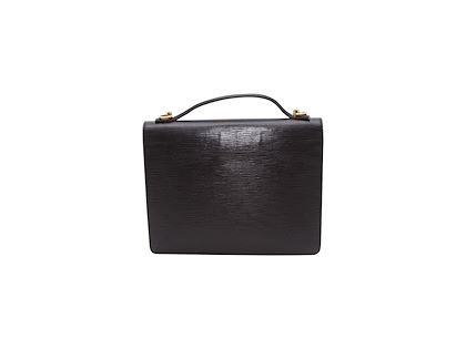 black-louis-vuitton-epi-leather-shoulder-bag