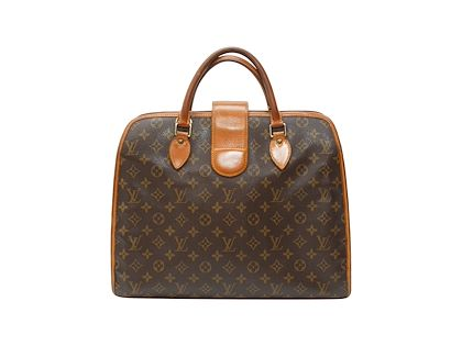 brown-louis-vuitton-monogram-coated-canvas-briefcase