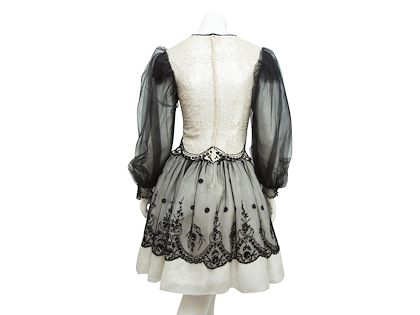 cream-black-valentino-embellished-victorian-dress