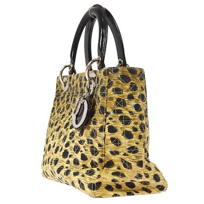 christian-dior-lady-dior-cheater-pattern-cannage-2way-hand-bag-brown