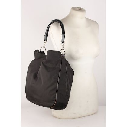gucci-black-canvas-hobo-shoulder-bag-tote-bamboo-handle