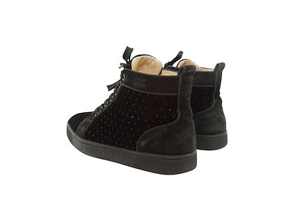 black-velvet-quilted-christian-louboutin-high-top-sneakers