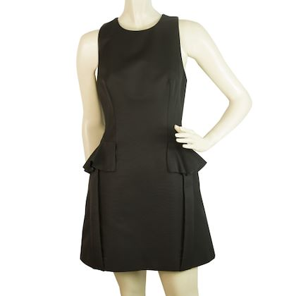 alexander-mcqueen-black-mini-dress