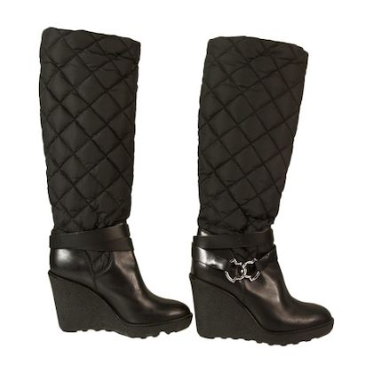 moncler-black-wedge-boots