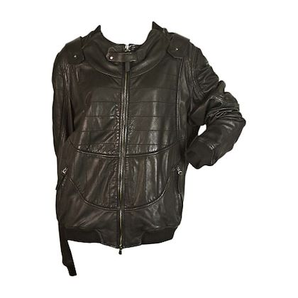just-cavalli-black-leather-zipped-jacket