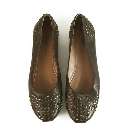 alaïa-brown-ballet-flats