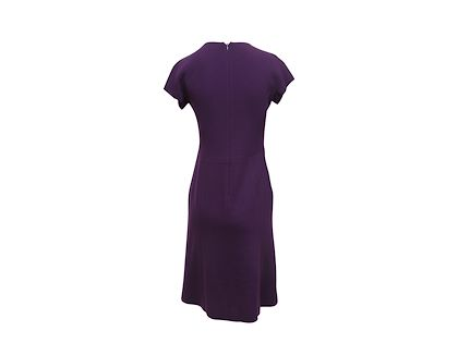 purple-bottega-veneta-wool-sheath-dress