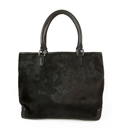just-cavalli-black-leather-shoulder-bag