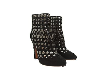 black-alaia-studded-suede-ankle-boots