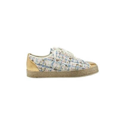 multicolor-chanel-tweed-espadrille-flats