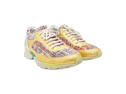 multicolor-chanel-tweed-sneakers
