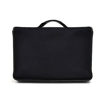 vintage-hermes-buenaventura-medium-black-canvas-leather-briefcase-bag-2