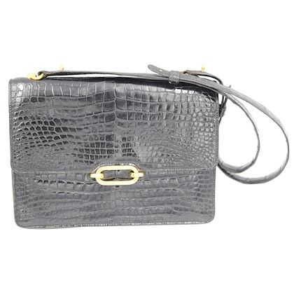 1974-hermes-fonsbelle-black-crocodile-purse-bag