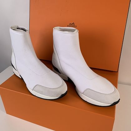 hermes-white-mesh-and-leather-soft-high-top-sneakers-size-375