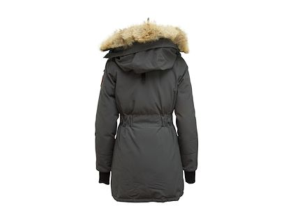 grey-canada-goose-fur-trimmed-down-jacket