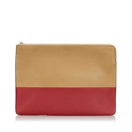 celine-bicolor-leather-clutch-bag