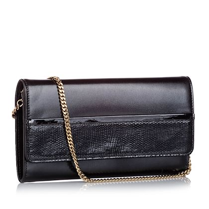 lanvin-embossed-leather-wallet-on-chain-long-wallets