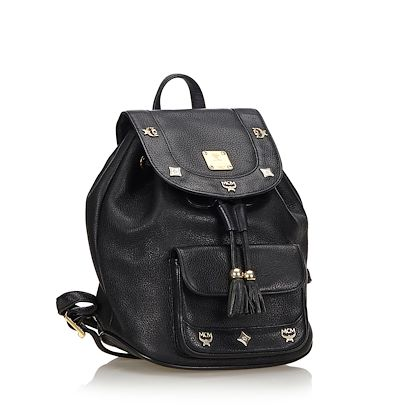 mcm-leather-backpack