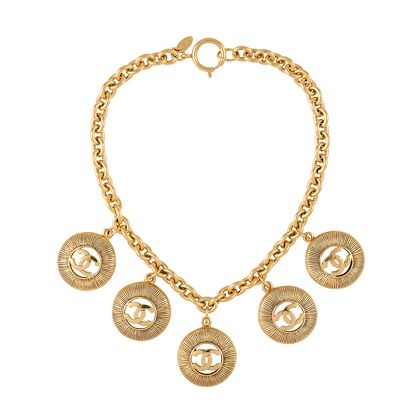 1980s-vintage-chanel-logo-necklace