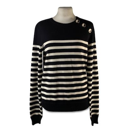 saint-laurent-black-and-ivory-striped-wool-sailor-jumper-sweater-size-s