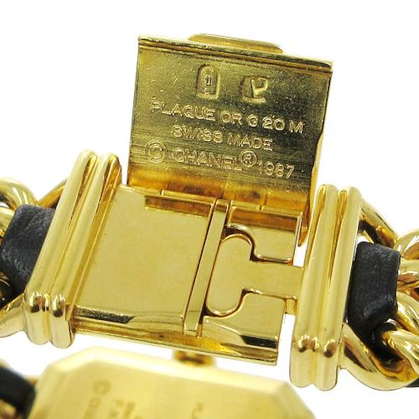 chanel-premiere-ladies-wristwatch-quartz-gold