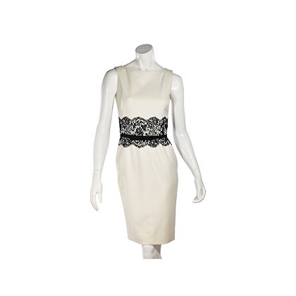 cream-black-valentino-stretch-wool-sheath-dress