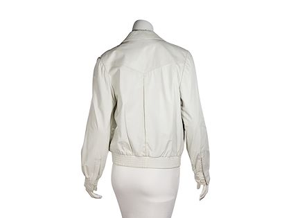 white-vintage-valentino-leather-jacket