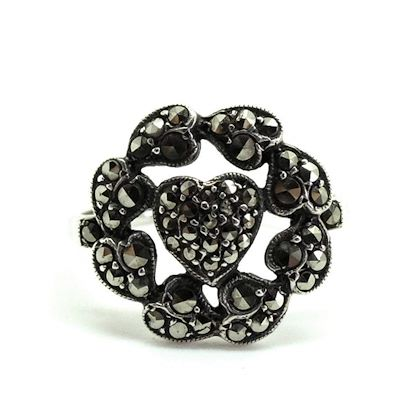vintage-1930s-marcasite-heart-silver-ring