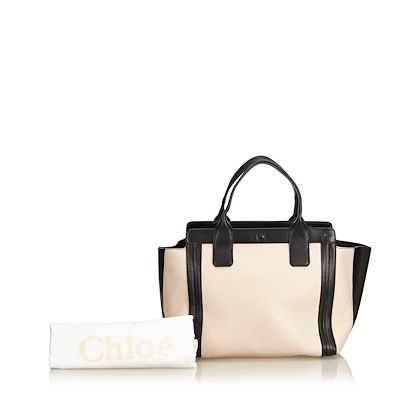 chloe-leather-allison-tote-bag