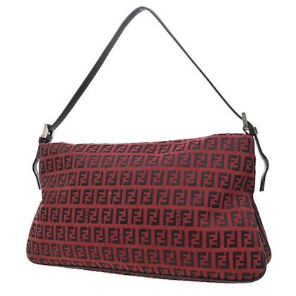 fendi-zucca-pattern-shoulder-bag-bordeaux-2