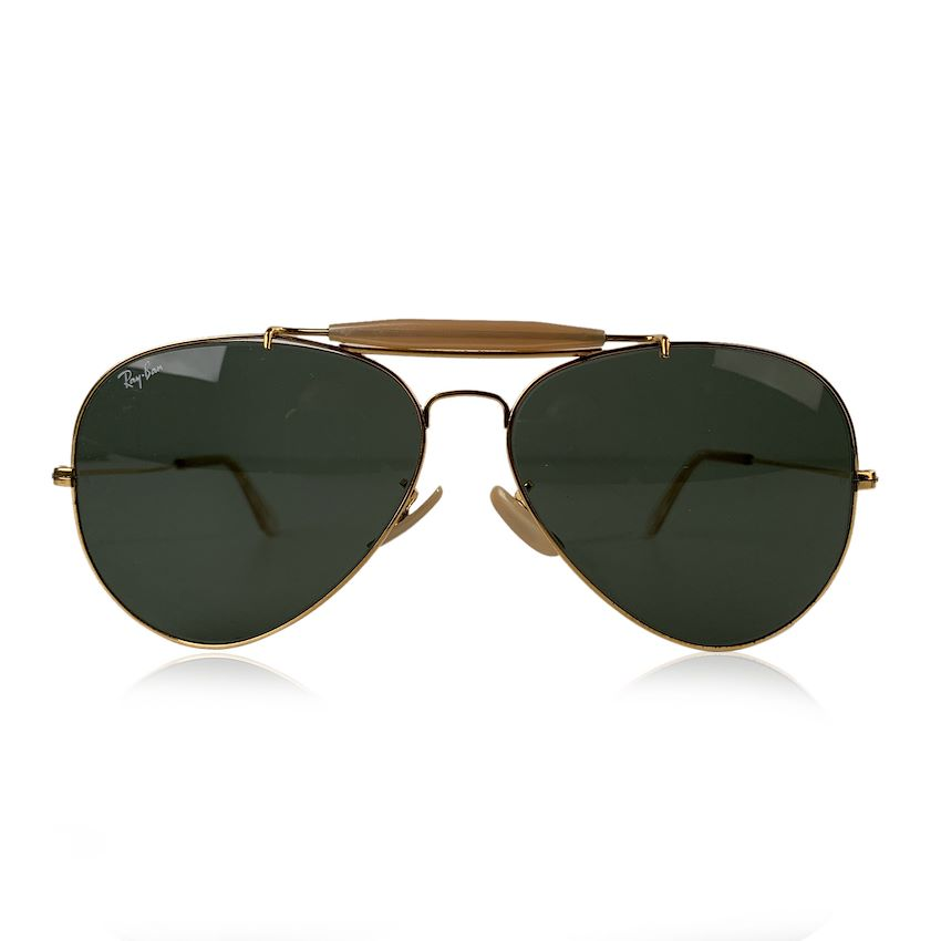 Ray Ban Bausch & Lomb Vintage Gold Mint