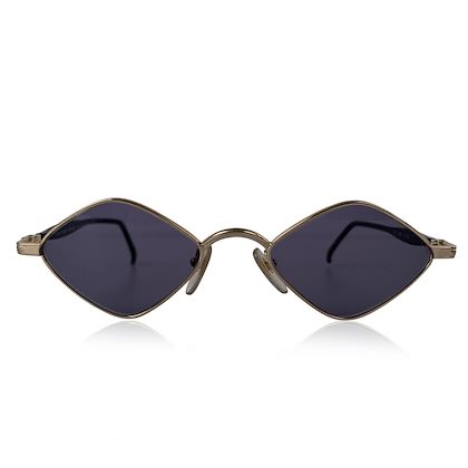 courreges-design-vintage-silver-unisex-diamond-shaped-sunglasses-9420
