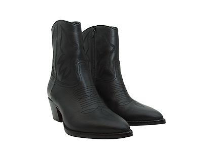 black-valentino-leather-cowboy-boots