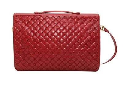 red-vintage-judith-leiber-leather-messenger-bag