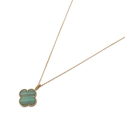 18k-yellow-gold-one-motif-malachite-alhambra-necklace